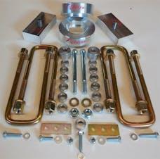 "Revtek Suspension 437 2.5"" Front 1.25"" Rear Suspension lift"