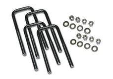 Superlift 10404 U-Bolt 4 pack 9/16X2-1/2X7 Square with Hardware