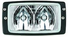 Hella Inc H15213017 Module 6213 Halogen Double Beam Flush Mount Work Lamp (LR)