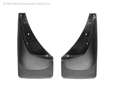 WeatherTech 110006 No Drill MudFlaps, Black