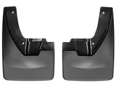 WeatherTech 110026 No Drill MudFlaps, Black