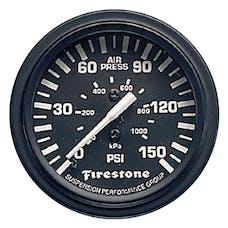 Firestone Ride-Rite 9084 Single Black Gauge Serv