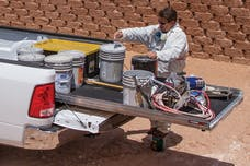 CargoGlide CG1500-9548 Slide Out Cargo Tray, 1500 lb capacity, 65% Extension, Plywood Deck